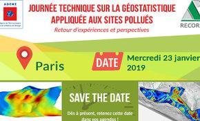 Géostatistique appliquée aux Sites et Sols Pollués : journée technique le 23 janvier à Paris