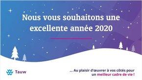 Tauw France vous souhaite le meilleur pour 2020!